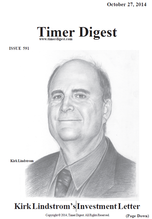Kirk Lindstrom on Cover of Timer Digest
