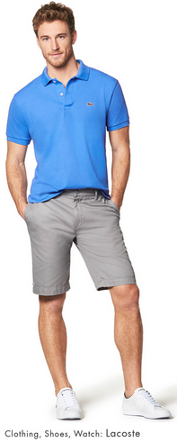 DESMIIT Men's Mesh Pocket Short