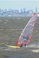 Kirk                Windsurfing at Coyote Point November 2009