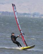 Kirk                 Windsurfing at Palo Alto in SF Bay in May 2009